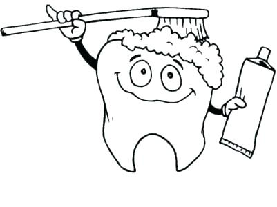 401x300 Brushing Teeth Coloring Page Free Printable Coloring Pages Click