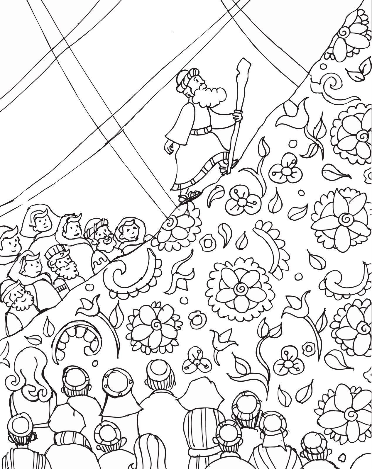1268x1600 Shavuot Cl Coloring