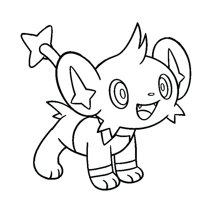 Shaymin Coloring Pages at GetDrawings | Free download