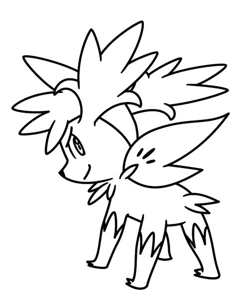 474x611 Shaymin Coloring Pages Seal Coloring Pages Best Seal Coloring