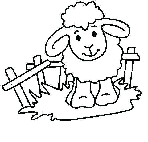 480x460 Farm Animals To Color Shaun The Sheep Colouring Pictures