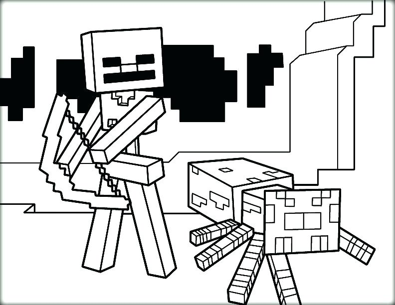 792x612 Minecraft Coloring Pages To Print Coloring Fight Coloring Pictures