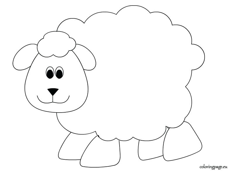 804x595 Sheep Coloring Pages Amazing Sheep Coloring Page About Remodel