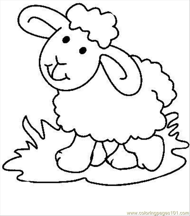 image relating to Free Printable Pictures of Sheep titled Sheep Coloring Web pages In direction of Print at  No cost for