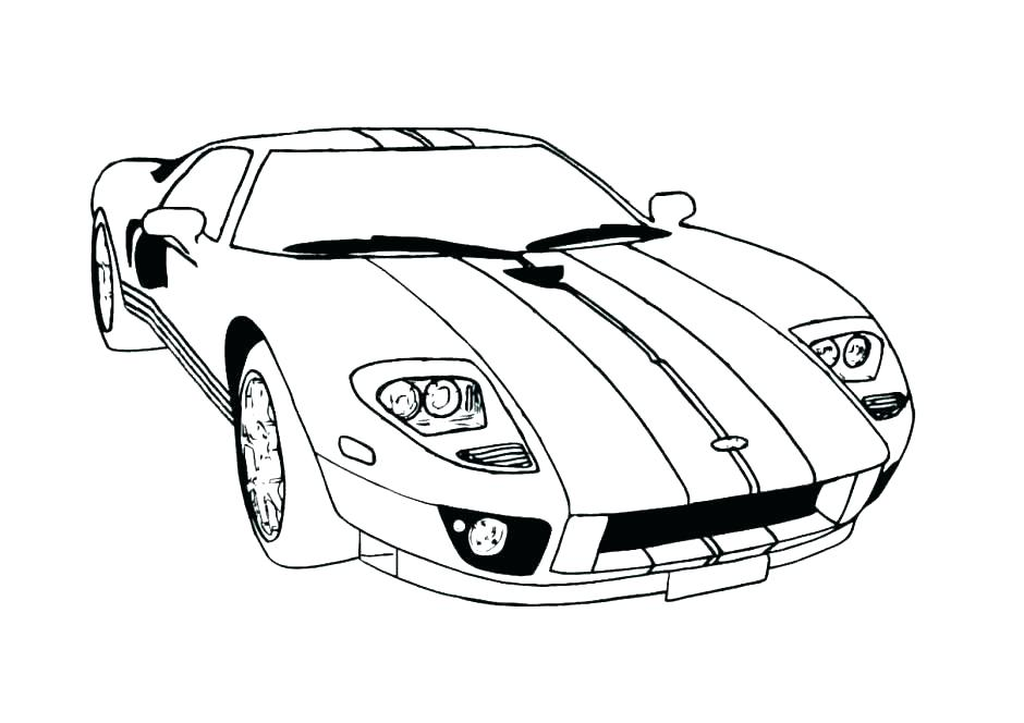 940x664 Mustang Coloring Mustang Coloring Pages Mustang Car Coloring Pages