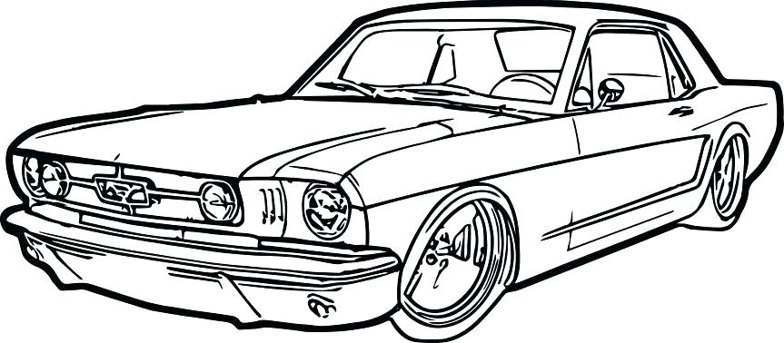 863x378 Mustang Coloring Pages Free Printable Mustang Coloring Pages Free
