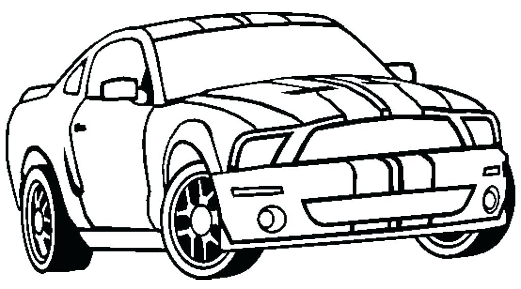 1024x569 Mustang Coloring Pages