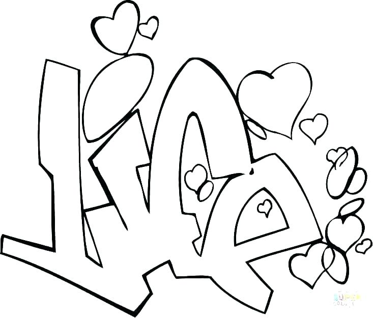 733x625 Graffiti Coloring Pages Printable Graffiti Coloring Pages