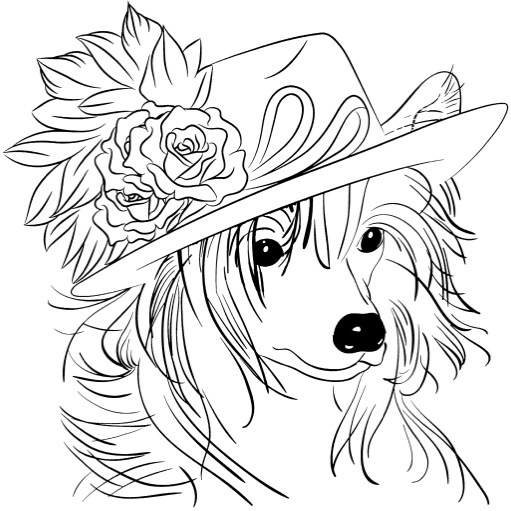 Sheltie Coloring Pages