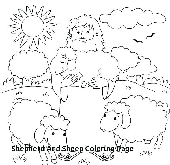 589x573 Good Shepherd Coloring Pages Free Jesus Images The Good Shepherd