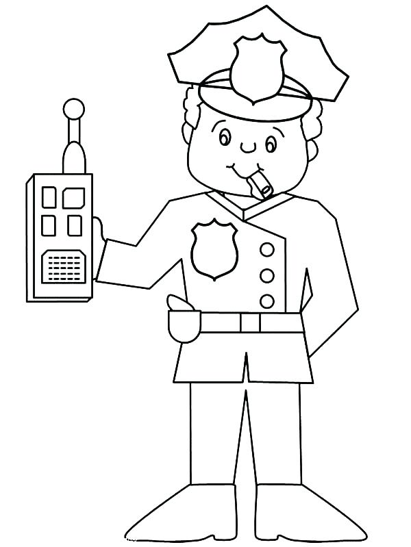 600x799 Police Badge Coloring Page Police Badge Picture Of Sheriff Badge
