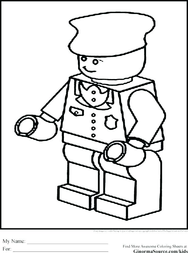 618x832 Police Badge Coloring Page Police Officer Coloring Page Plus