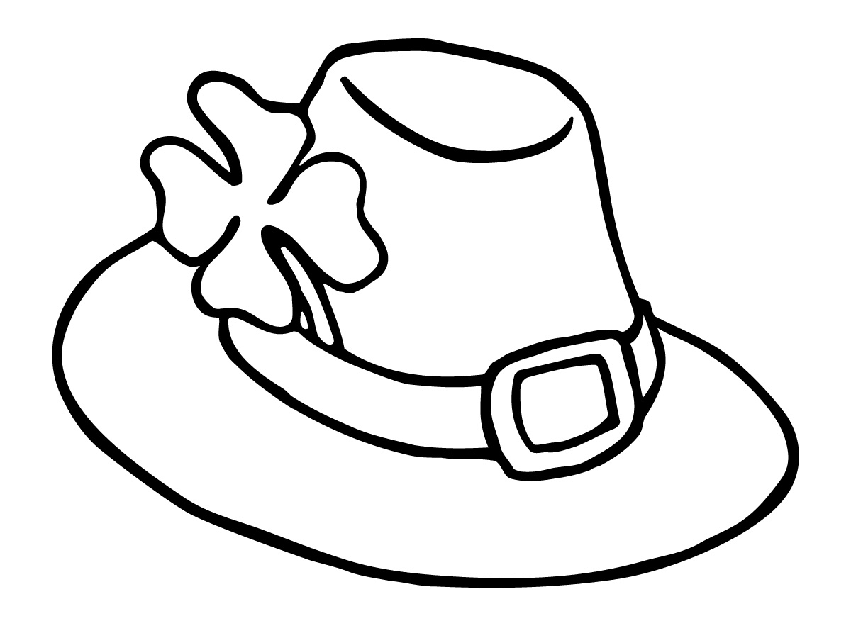 1200x900 Interesting Police Hat Coloring Page Officer Pages Sheriff Badge