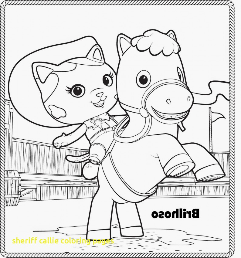 794x850 Sheriff Callie Coloring Pages Disney Jr Coloring Pages Sheriff