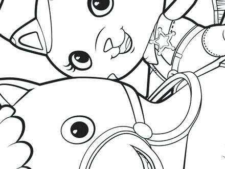 440x330 Sheriff Callie Coloring Pages Sheriff Coloring Pages Free Sketch