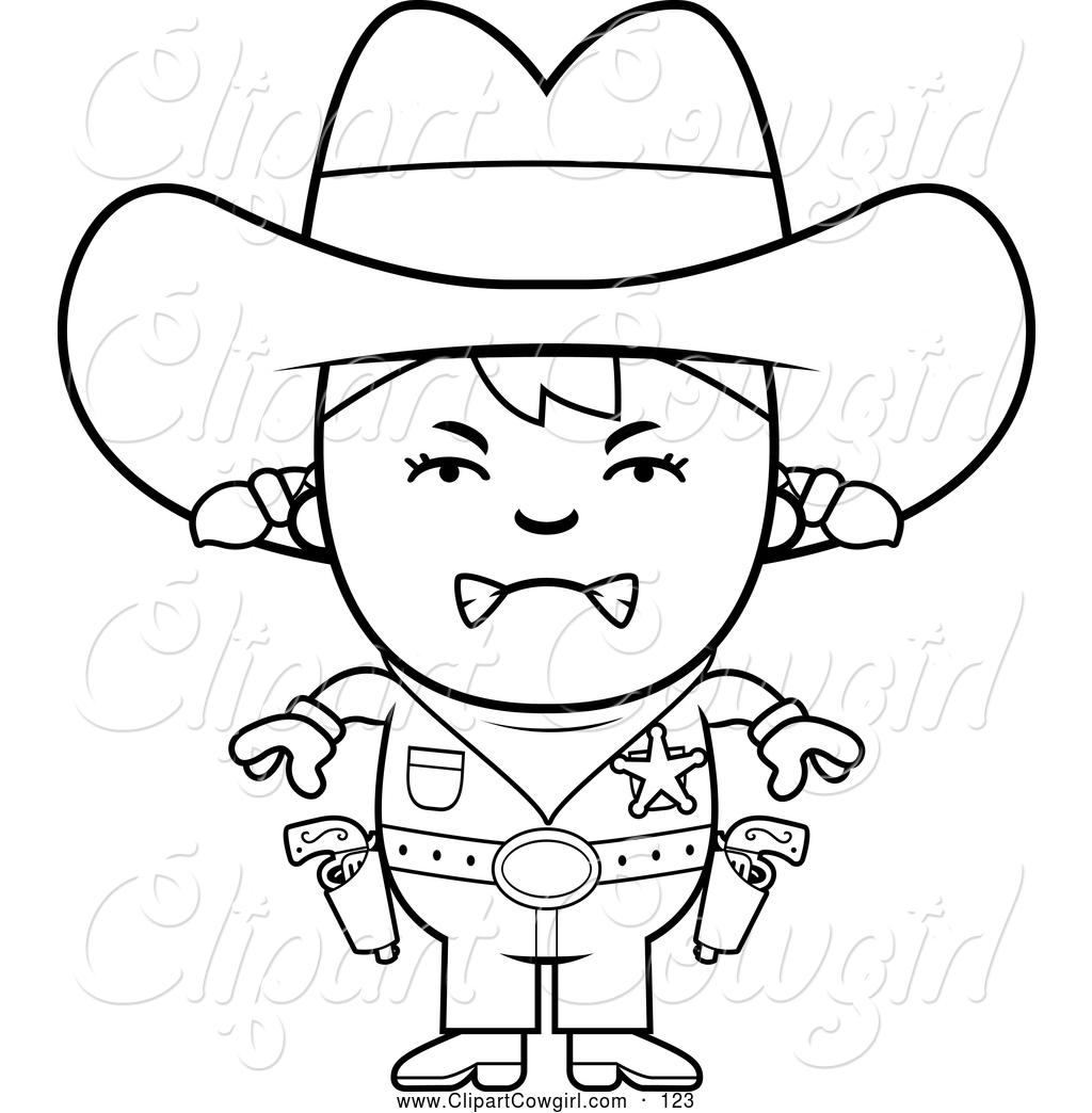 1024x1044 Clipart Of A Coloring Page Of A Black And White Mad Sheriff
