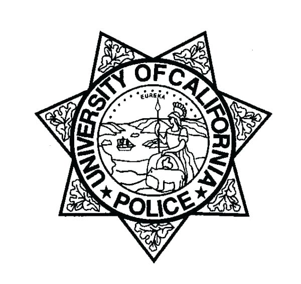 600x567 Police Badge Coloring Page Police Badge Coloring Page Police Hat