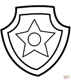 236x267 Fbi Badge Coloring Sheet Coloring Pages Summer Activities