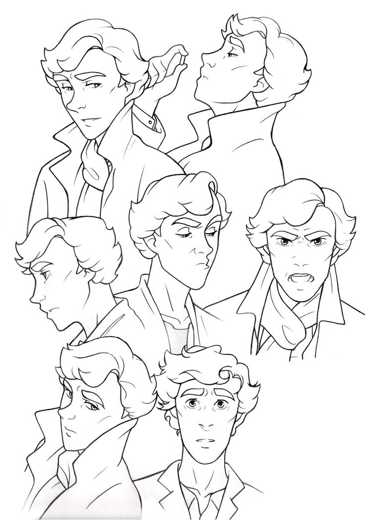 736x1048 Sherlock Comic Easy To Draw Art Sherlock, Comic