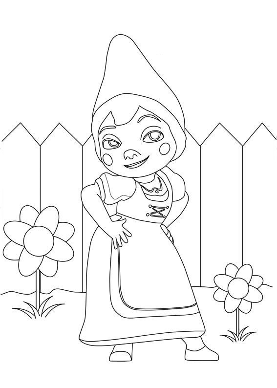 567x794 Sherlock Gnomes Coloring Pages To Download And Print For Free