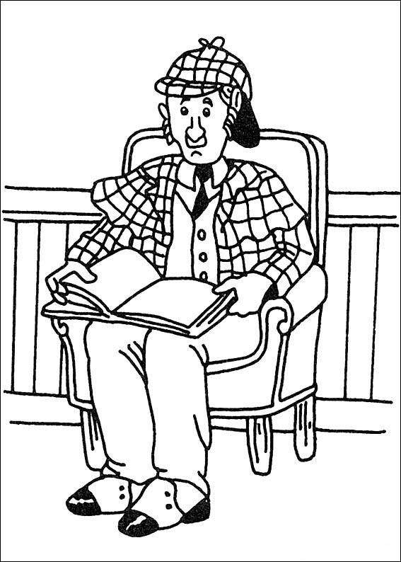 567x794 Sherlock Holmes Fargelegging Tegninger Fargelegging