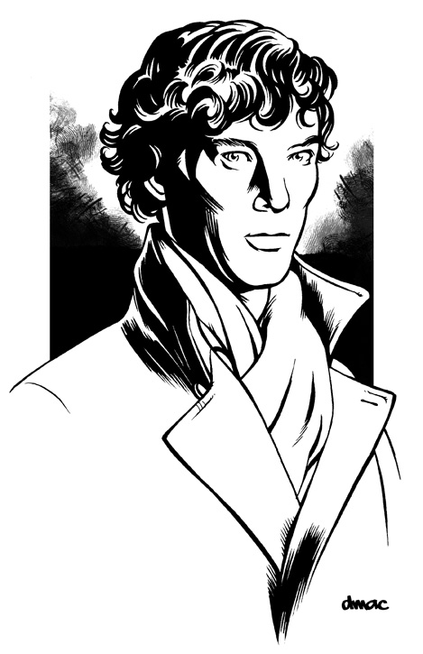 469x725 Sherlock Coloring Pages