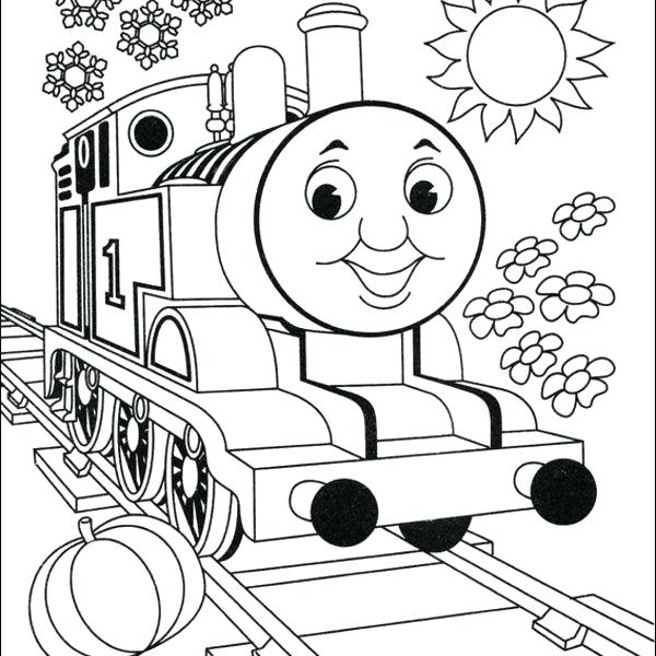 600x600 Tank Coloring Pages The Tank Engine Colouring Pictures To Print