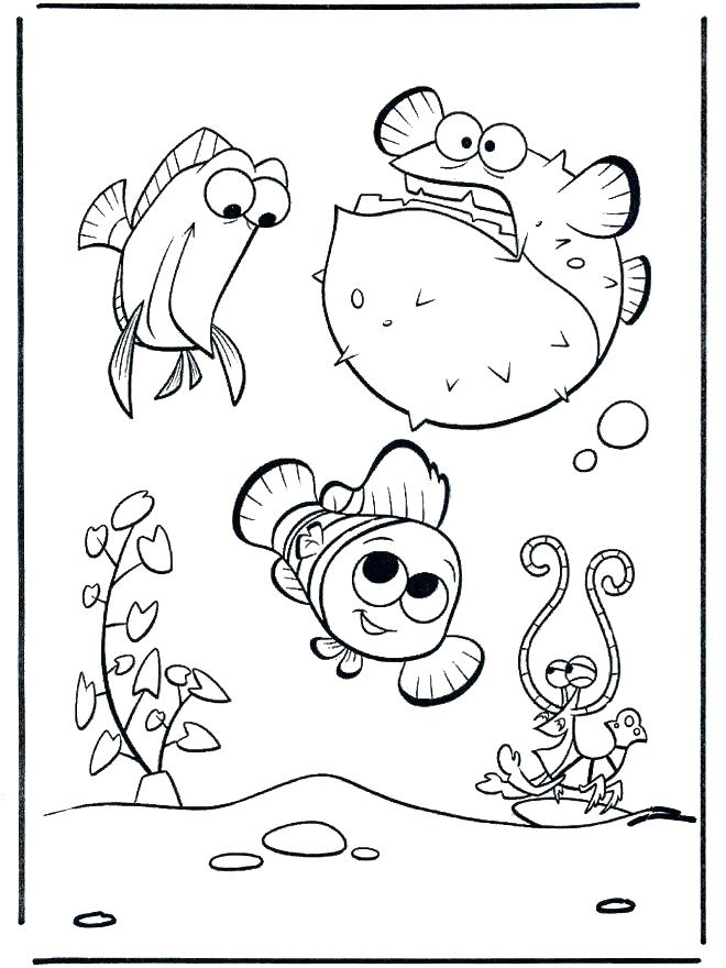 660x880 Fish Tank Coloring Page Great Fish Tank Coloring Page In Picture