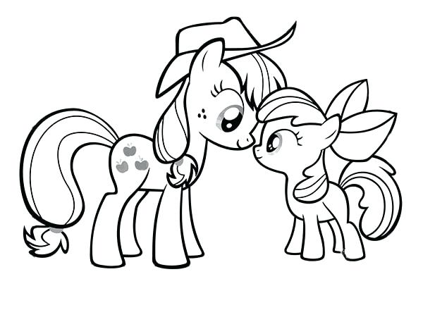 The best free Applejack coloring