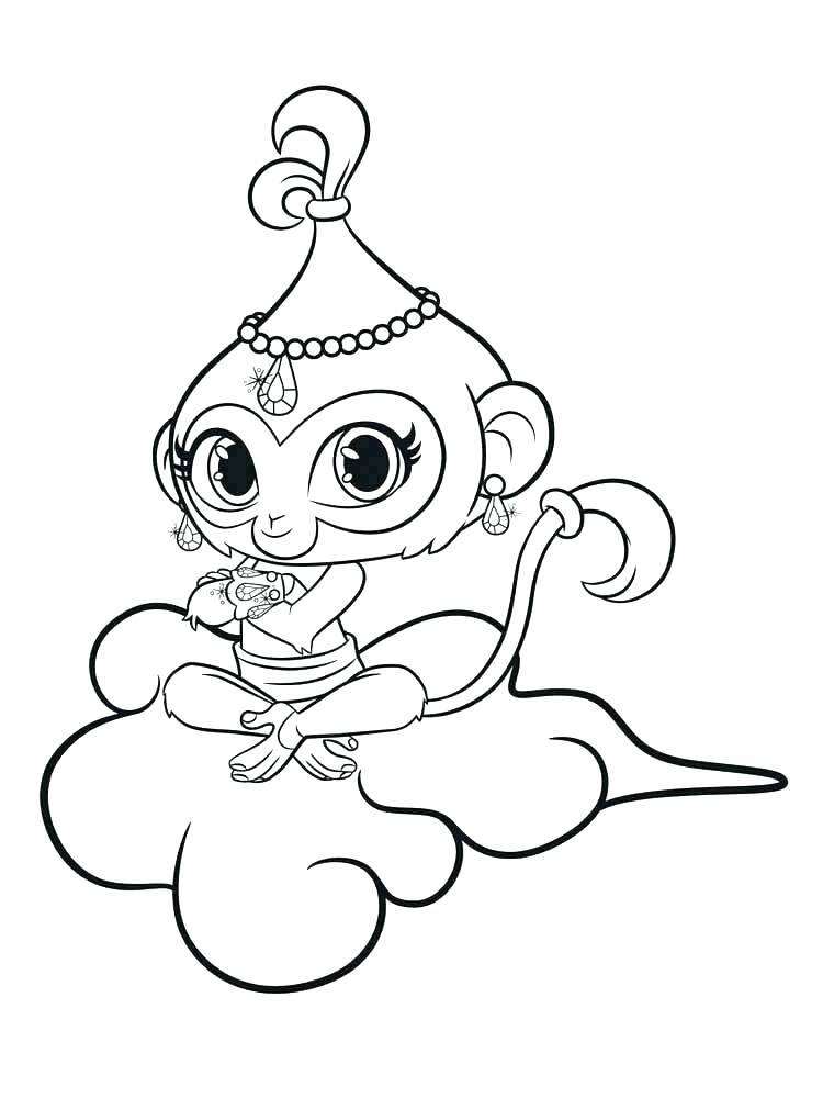 Shimmer Shine Coloring Pages at GetDrawings   Free download