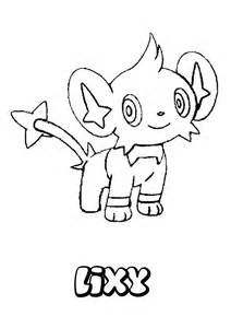 Shinx Coloring Pages