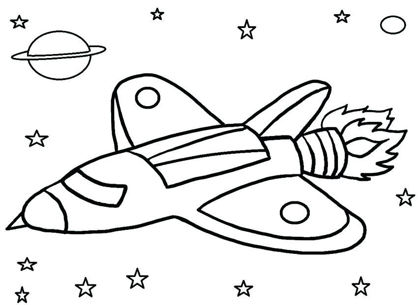 850x621 Free Printable Rocket Coloring Pages Kids Coloring Rocket Coloring