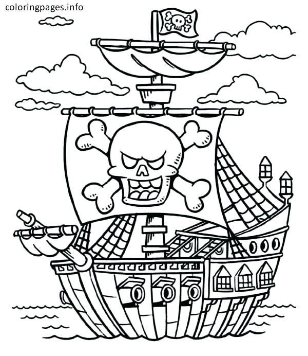 Ship Coloring Pages For Kids At Getdrawings Com Free For Personal