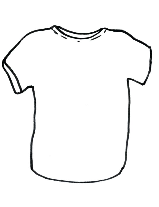 671x877 Tshirt Coloring Page Kids Tee Shirts From Coloring Pages Tutorial