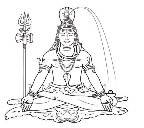 474x421 Fascinating Lord Shiva Coloring Pages For Inspiration And Style