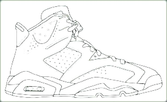640x392 Sneaker Coloring Book Sneaker Coloring Page Shoes Coloring Pages