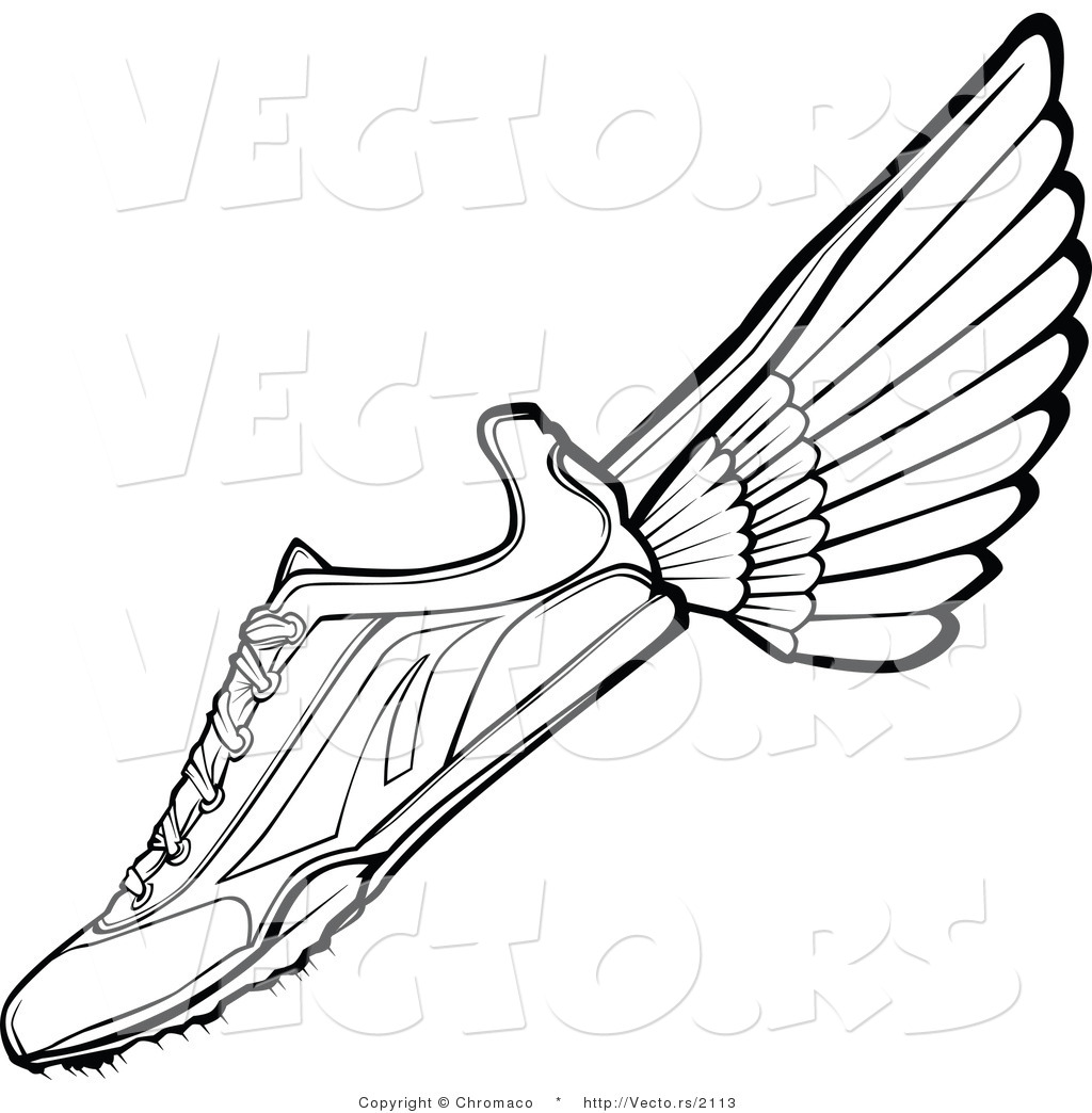 1024x1044 Awesome Running Shoes Coloring Pages Shoe Drawing At Getdrawings