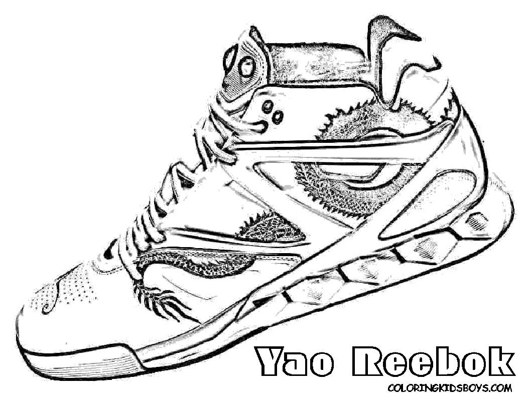 1056x816 Coloring Pages Of Clown Shoes Fresh Jordan Shoe Coloring Sheet