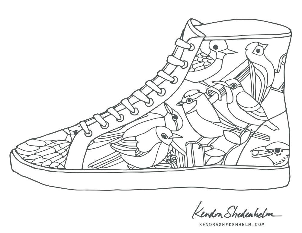 1000x773 Jordan Coloring Pages Shoes Shoe Color Page Shoe Coloring Pages