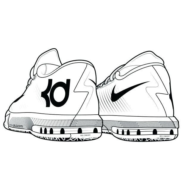 618x618 Nike Basketball Shoes Coloring Pages Shoes Coloring Pages Free