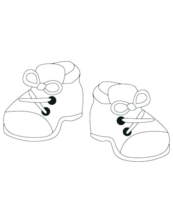 600x774 Shoes Coloring Page Shoes Coloring Page Shoes Coloring Page How