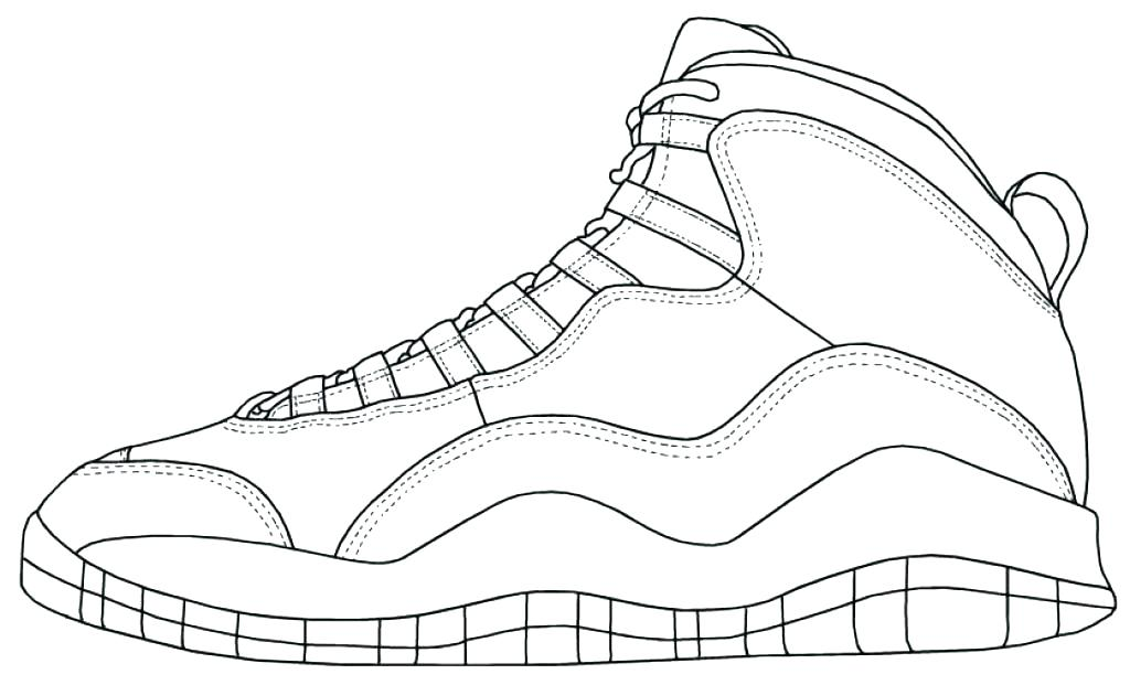 1024x621 Shoes Coloring Pages Printable For Sweet Page Printable Printable
