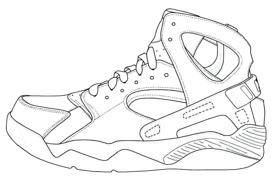 918x591 Jordan Coloring Pages Shoes