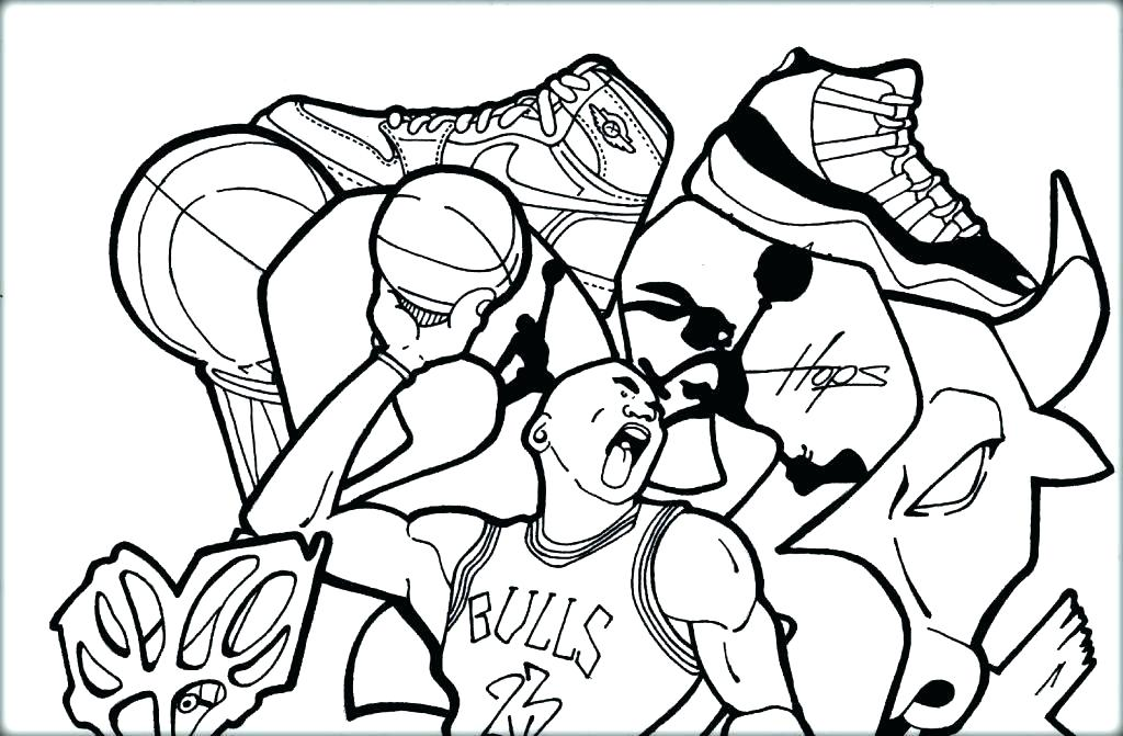 1024x671 Shoes Coloring Pages