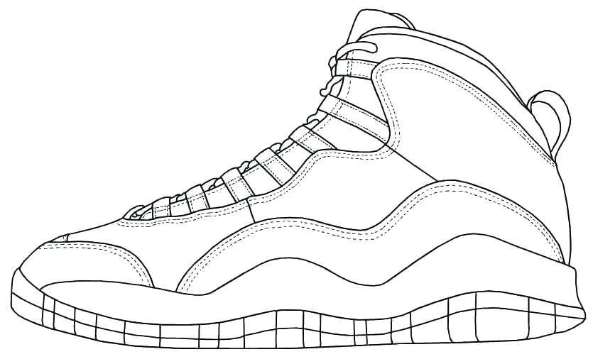 835x506 Jordan Shoes Coloring Pages Shoe Coloring Pages Top Rated Shoe