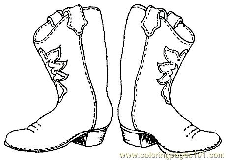 Shoe Print Coloring Page At Getdrawings Com
