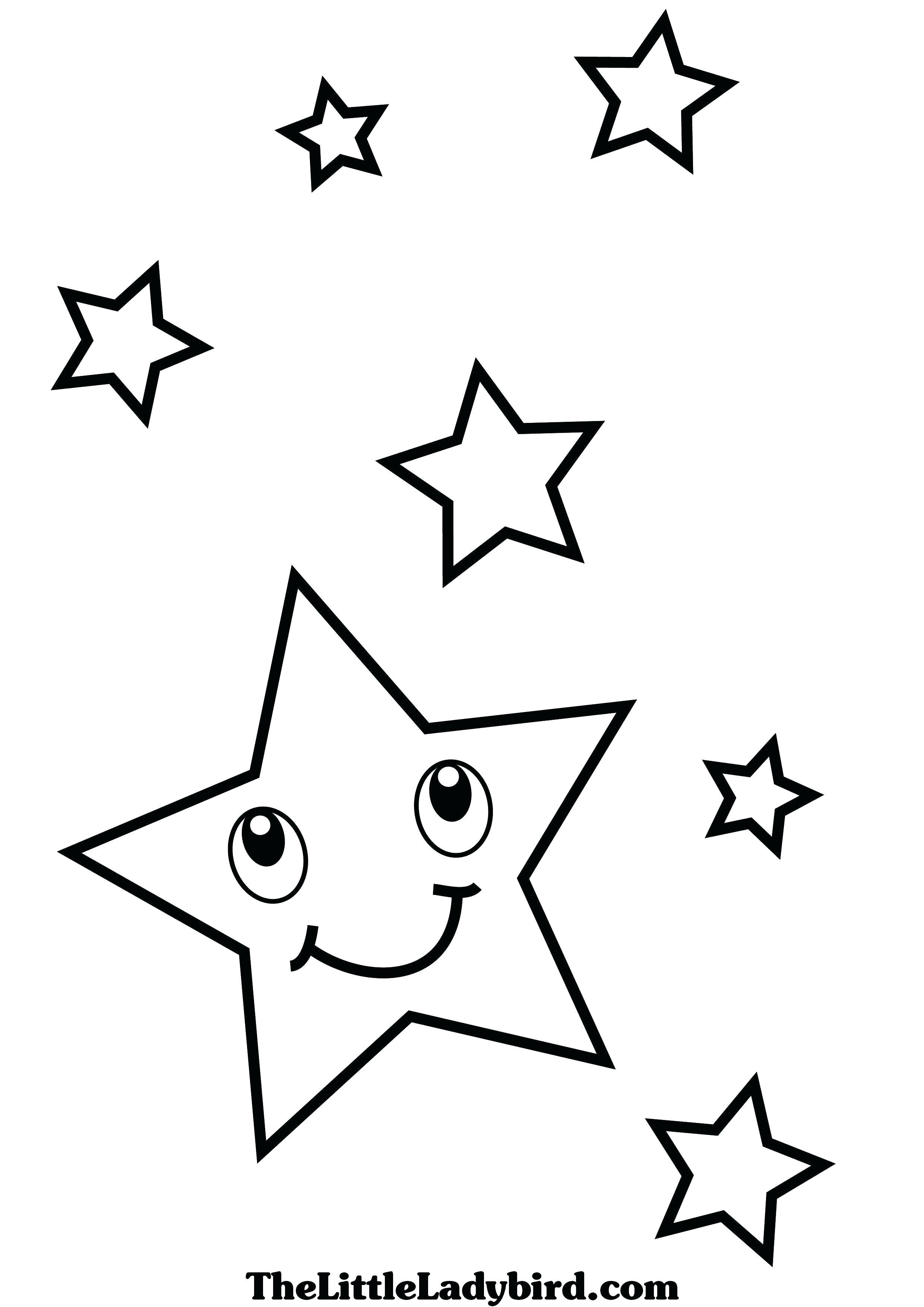 2480x3508 New Printable Shooting Star Coloring Pages Printable
