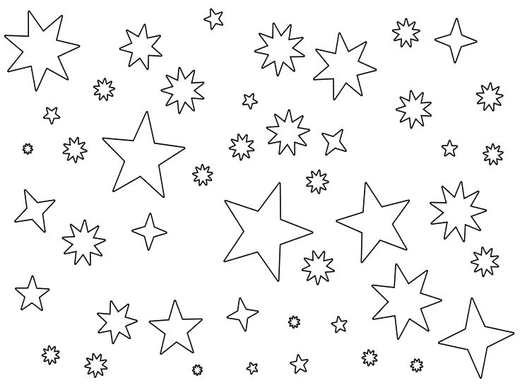 736x552 Star Coloring Pages Star Outline Printable Coloring