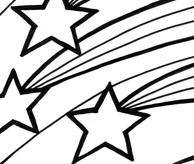 678x576 Shooting Star Coloring Pages Shooting Star Coloring Pages Free