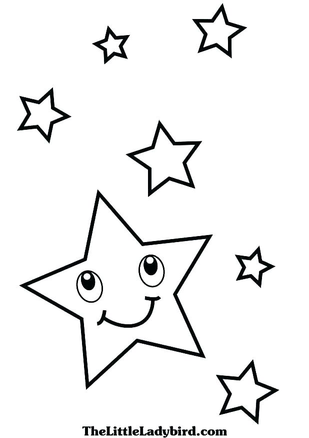 618x874 Shooting Star Colouring Page Printable Coloring Pages Fourth